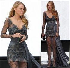 van, girl fashion, zuhair murad, blake lively, celebrity dresses