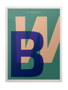Playtype BW Poster (50x70 cm)