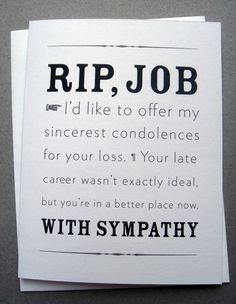 RIP Job
