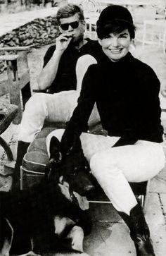 John and Jackie Kennedy 1963- VIRGINIA