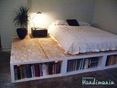 Palets bed!