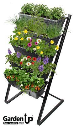 Garden Up - Freestanding Vertical Garden > Whites Group