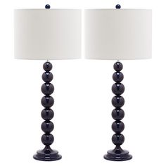 """Ball Lamp 31"""" Navy Pair, $225, now featured on Fab."""