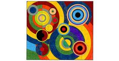 Delaunay Mural - group project for class