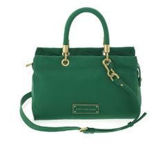 Marc by Marc Jacobs Too Hot to Handle Satchel in Soccer Pitch Green