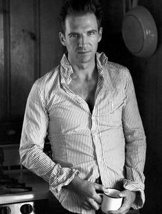 Ralph Fiennes ~  would you like a spot of tea??   YES PLEASE!!!