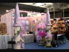 Tutu craft show display pictures in a video clip