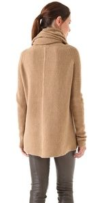 Vince Cowl Neck Sweater...in charcoal also...