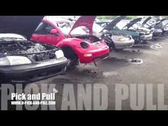 Pick And Pull Style Junk yard, select the car, pick and pull and the part you need, it's awesome