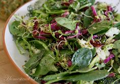 Homestead Revival: Kale & Cabbage Salad