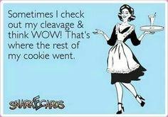 Cleavage....