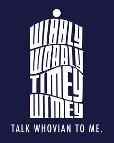 Talk Whovian to Me