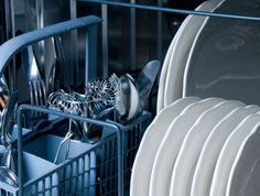 While other kitchen appliances get  a good cleaning as required, I think many of us consider our dishwashers self-cleaning. After all, it uses hot water and strong dishwashing soap, so cleaning the outside should be good enough, right? Wrong. You do have to clean it. Here's how to clean a dishwasher.