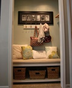 Closet Organization Tips - Repurposed Space - Click Pic for 36 DIY Closet Organizer Ideas