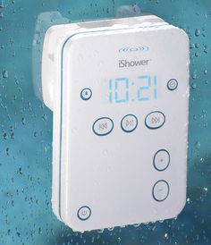 Waterproof Bluetooth Shower Speaker for iPhone/iPad