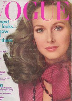 vogue, fashion legendkaren, juli 1973, mag cover, beauti karen
