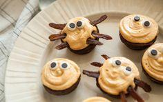 Spider Brownie Bites