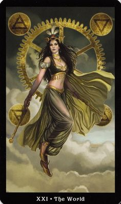 Customer Image Gallery for The Steampunk Tarot