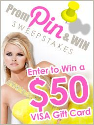 PROM PIN & WIN Contest