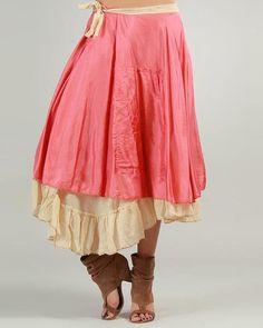 Ian Mosh Color-Blocked Layered Skirt - Sales Events - Modnique.com