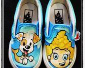 Custom Painted Toddler Vans