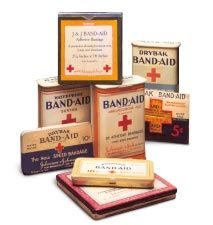 1920 earle dickson invented the band aid for his wife who had many