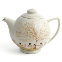 London Transport Museum  Andre Edouard Marty Tea Pot