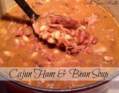 Cajun Ham and Bean Soup