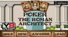Poker game.The Roman