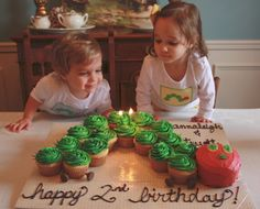 very hungry caterpillar birthday cupcakes cake