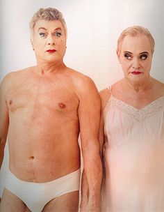 Some Like It Hot redux ~  Tony Curtis and Jack Lemmon by Annie Leibovitz ~ 1995