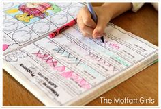GREAT TIP: Interactive Notebooks are all the rage! Did you know that you can make your own interactive notebooks by scaling the pages to 85% before printing? It is also perfect for keeping student work in one place.