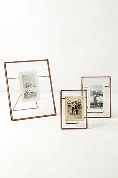 { copper glass photo frames }