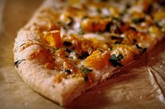 Roasted Butternut Squash, Chard & Sage Pizza