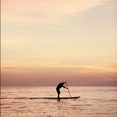 Hubby on his SUP www.kandkphotogra...