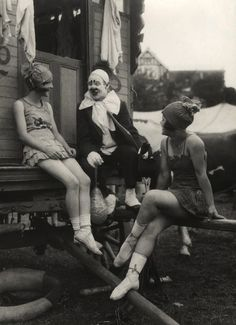 Clown with Friends