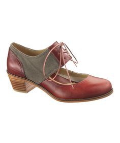Nellie Leather Oxford