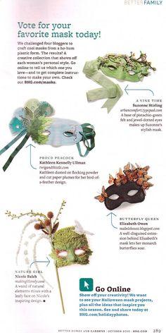 crafty masks.