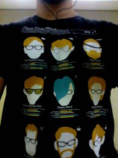 Know your nerds #shirt. LOL!