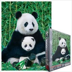 Panda and Baby Puzzle at theBIGzoo.com, a family-owned toy store.