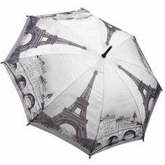 Galleria Art Print Walking Length Umbrella - Paris