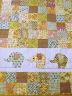 Elephant blanket baby patchwork applique quilts, quilt elephant, elephant quilts, baby quilts, babi quilt, eleph quilt, cute elephant blankets, eleph blanket, baby applique quilts