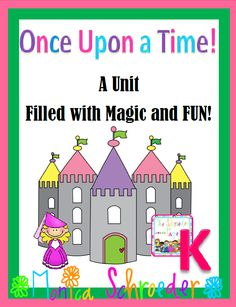 This file is a 54 page down load that will walk you through introducing fairy tale elements and sharing much loved fairy tales with your KINDERGARTEN class.  Included you will find:  $9.99