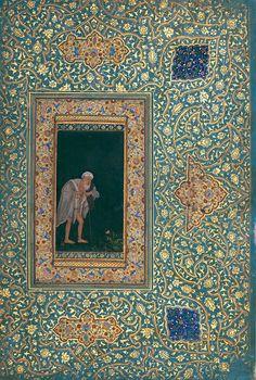 Abu'l Hasan, An Aged Pilgrim, c. 1618-20,