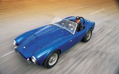 Shelby Cobra CSX2000 in honor of the late Carroll Shelby