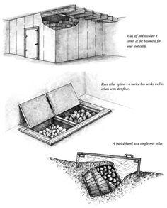 DIY Root Cellar