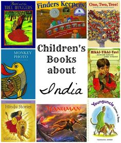 Books about India for Kids; great multicultural books help parents and teachers to educate their kids about another country/culture. These are visually appealing, culturally accurate, and age-appropriate:).