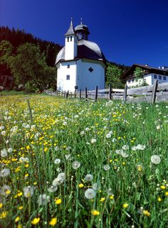 Little churches with a lot of history are all spread over the countryside, Wildschönau. #austria #wildschoenau #church #countryside #scenery #summer #hiking #visitaustria