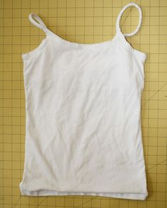 No Sew Belly Band From Old Cami