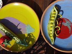 ceramic vegetables by giovanna zighetti VIA ZANELLA MARKET 5.05.13